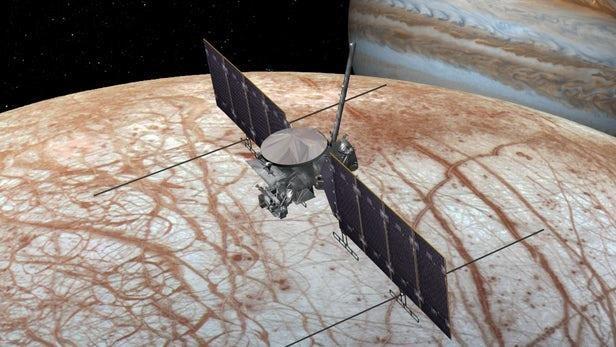 NASA chinh thuc khoi dong su menh tham hiem Mat Trang cua Sao Moc hinh anh 1