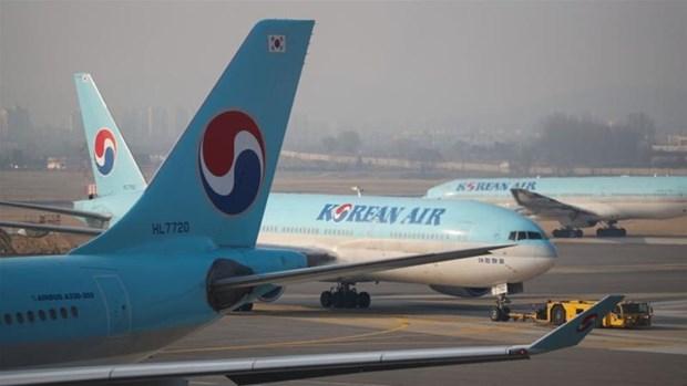 Korean Air cua Han Quoc giam cac chuyen bay toi Nhat Ban hinh anh 1