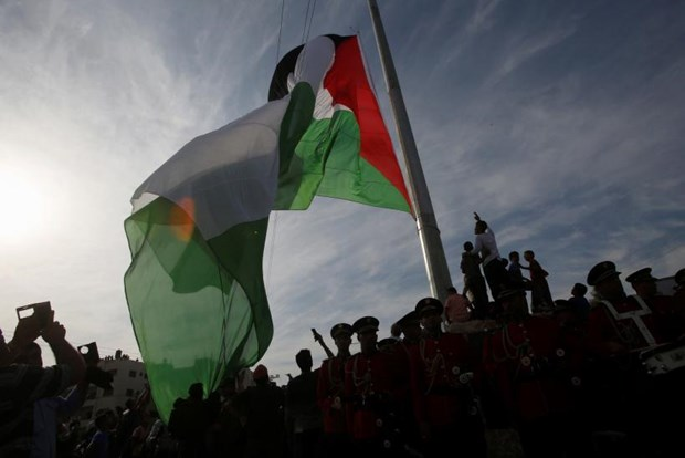 Palestine doi pho voi cuoc khung hoang tai chinh nghiem trong hinh anh 1