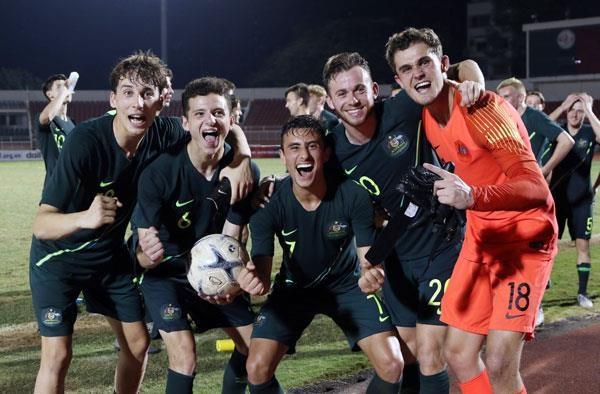 Ha Malaysia, Australia vo dich giai U18 Dong Nam A 2019 hinh anh 1