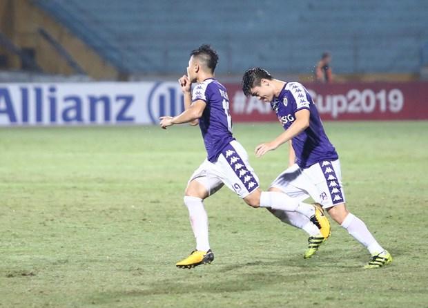 Quang Hai toa sang, Ha Noi FC nguoc dong danh bai Altyn Asyr hinh anh 1
