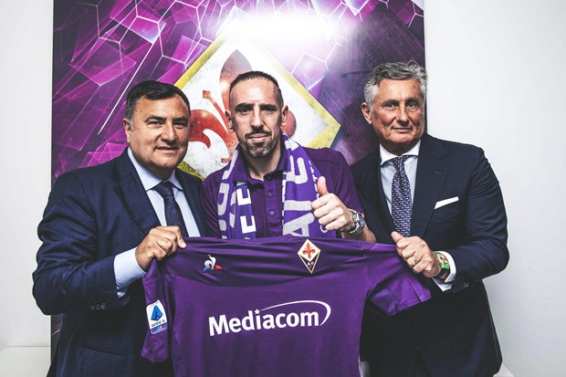 Tien ve Franck Ribery chinh thuc gia nhap CLB Fiorentina hinh anh 1