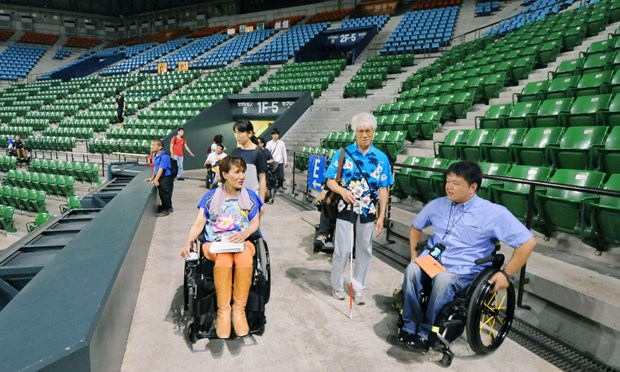 Nhat Ban uu tien cho cac khan gia khuyet tat toi du Paralympics 2020 hinh anh 1