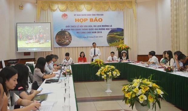 Yen Bai: Sap dien ra le hoi Van hoa, Du lich Muong Lo hinh anh 1