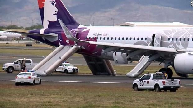 My: May bay cua Hawaiian Airlines ha canh khan cap, 7 nguoi nhap vien hinh anh 1