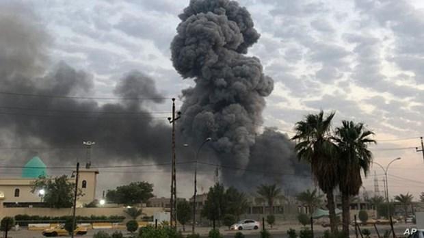 Iraq: No bom o phia Nam Baghdad, hon 30 nguoi thuong vong hinh anh 1