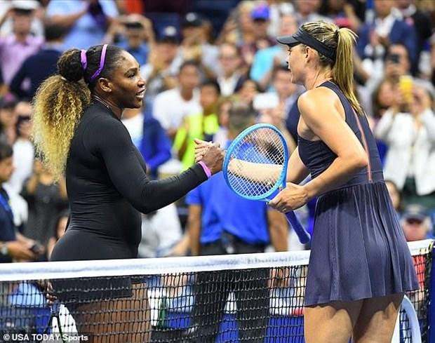 US Open 2019: Sharapova cung hang loat hat giong som dung buoc hinh anh 2