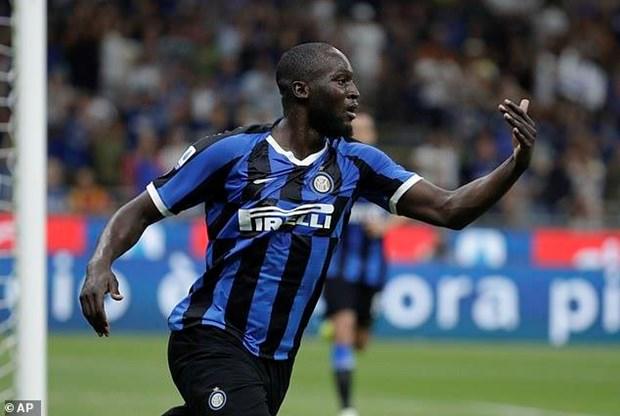 Ket qua bong da: Romelu Lukaku ghi ban, Inter len dinh Serie A hinh anh 1