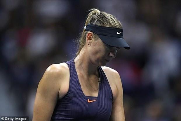 US Open 2019: Sharapova cung hang loat hat giong som dung buoc hinh anh 1