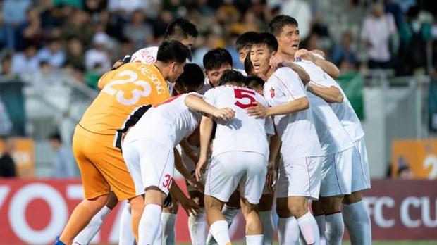 Ha Noi FC cham tran doi bong Trieu Tien o chung ket AFC Cup 2019 hinh anh 2