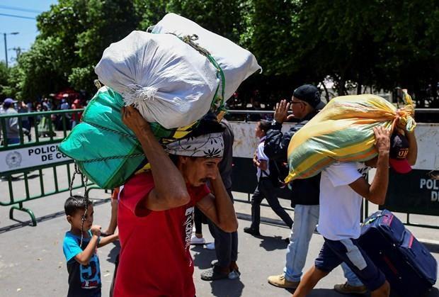 LHQ canh bao cuoc khung hoang di cu Venezuela da mang tinh toan cau hinh anh 1