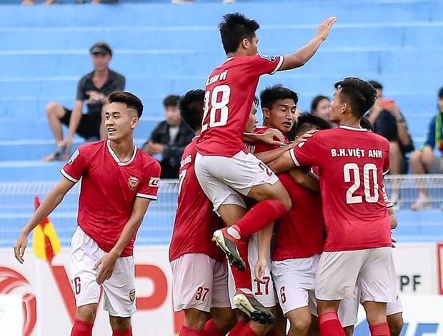 Hong Linh Ha Tinh chinh thuc gianh ve thang hang V-League hinh anh 1
