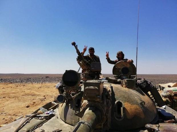 Nga thong bao lenh ngung ban tai chien dia o Tay Bac Syria hinh anh 1