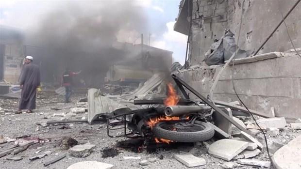 Nga: My da tien hanh cac vu khong kich o Idlib, gay nhieu thuong vong hinh anh 1