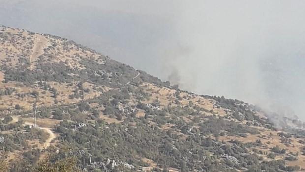 Liban cao buoc may bay khong nguoi lai Israel xam pham khong phan hinh anh 1