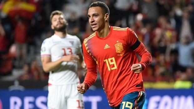 Ket qua bong da: Tay Ban Nha, Italy sap co ve du vong chung ket Euro hinh anh 1