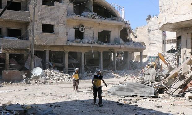 Bo Quoc phong Nga bac bo viec tien hanh khong kich o Syria hinh anh 1