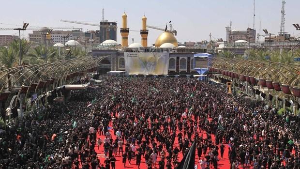 Iraq: Giam dap tai den tho Imam Hussein, it nhat 31 nguoi thiet mang hinh anh 1