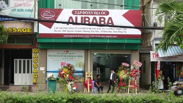 Phat tien, buoc thao do bien hieu trai phep cua Cong ty dia oc Alibaba hinh anh 1