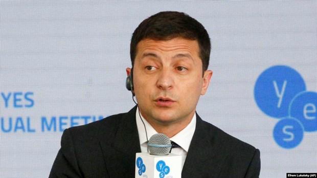 Tong thong Zelenskiy: My se vien tro them 140 trieu USD cho Ukraine hinh anh 1