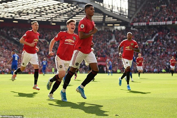 Ket qua Premier League: M.U chien thang, Man City thua soc hinh anh 1