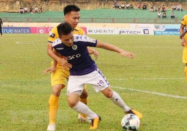 Danh bai SLNA, Ha Noi FC vo dich V-League 2019 som 2 vong dau hinh anh 1