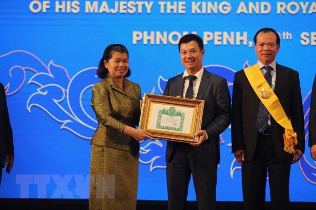 Pho Thu tuong Campuchia Men Sam An danh gia cao dong gop cua BIDV hinh anh 2