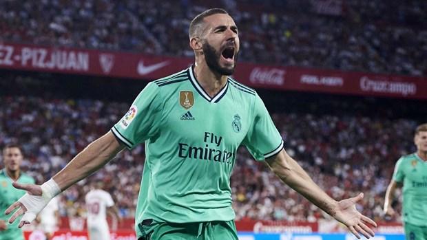 Karim Benzema ghi ban, Real Madrid ap sat ngoi dau La Liga hinh anh 1