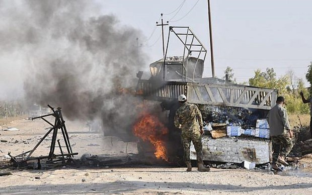 Iraq: Can cu quan su o tinh Anbar tiep tuc bi khong kich hinh anh 1