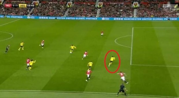 Chia diem voi Arsenal, Manchester United roi xuong vi tri thu 10 hinh anh 3