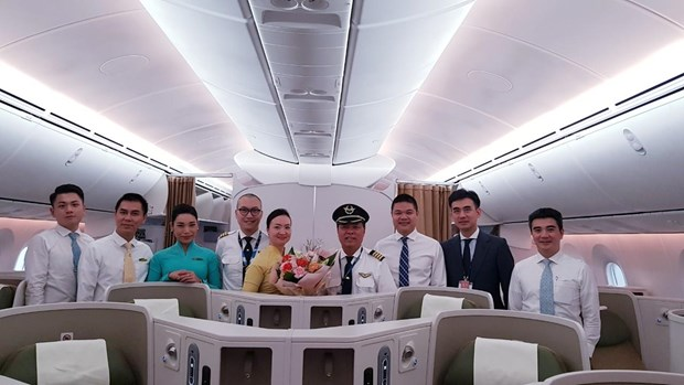 Vietnam Airlines khai thac Boeing Dreamliner tuyen TPHo Chi Minh-Seoul hinh anh 1