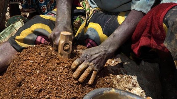 It nhat 14 nguoi thiet mang trong vu sap ham mo tai CHDC Congo hinh anh 1