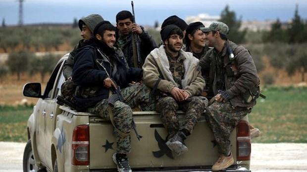 Phien quan Syria ung ho chien dich tan cong nguoi Kurd cua Tho Nhi Ky hinh anh 1