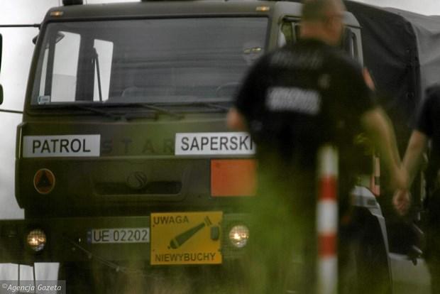 Ba Lan: Bom thoi the chien phat no, khien hai binh sy thiet mang hinh anh 1
