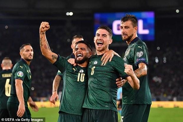 Doi tuyen Italy chinh thuc gianh ve du vong chung ket Euro 2020 hinh anh 1
