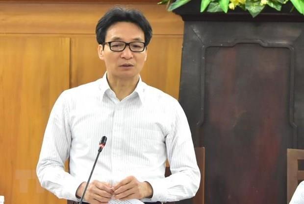 Pho Thu tuong Vu Duc Dam kiem Bi thu Ban Can su Dang Bo Y te hinh anh 1