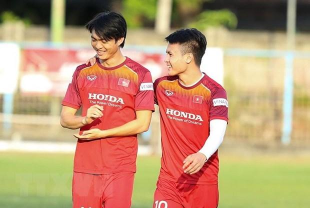 HLV Park Hang-seo khong dien ten Tuan Anh o tran Indonesia-Viet Nam hinh anh 1