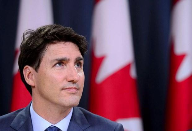 Thu tuong Canada Trudeau keu goi cu tri bo phieu cho dang Tu do hinh anh 1