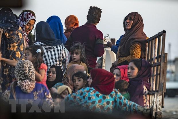 Syria: Hon 200 dan thuong thiet mang trong chien dich cua Tho Nhi Ky hinh anh 1