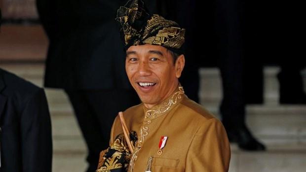 Tong thong Indonesia Joko Widodo chinh thuc bat dau nhiem ky thu hai hinh anh 1