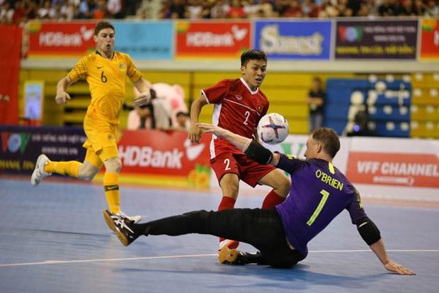 Viet Nam ha Australia o tran ra quan giai Futsal Dong Nam A 2019 hinh anh 1