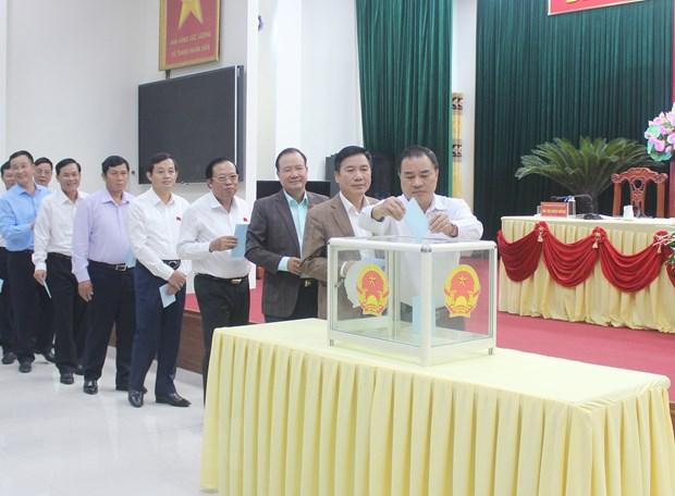 Ong Le Quang Tien duoc bau giu chuc Pho Chu tich UBND tinh Thai Nguyen hinh anh 1