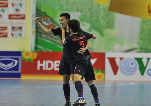 Tuyen Thai Lan lan thu 15 gianh chuc vo dich giai futsal Dong Nam A hinh anh 1