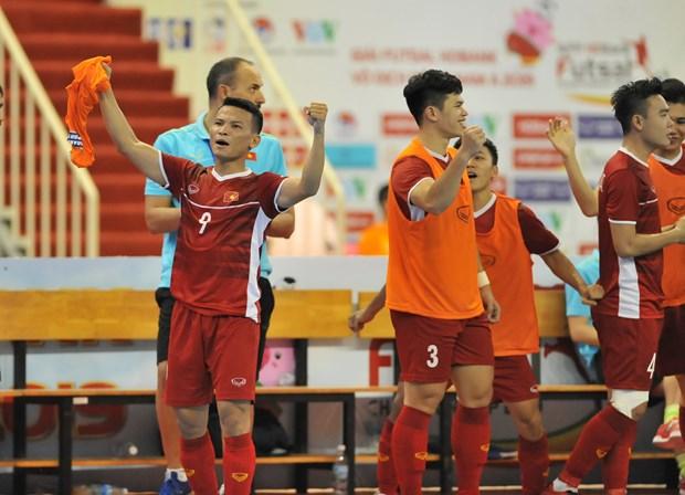 Thang dam Myanmar, tuyen Viet Nam gianh ve du VCK futsal chau A 2020 hinh anh 2
