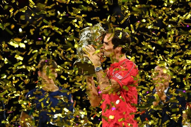 'Tau toc hanh' Roger Federer hoan tat cu decima tai Basel Open hinh anh 1