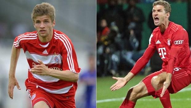 Thomas Mueller sap can moc lich su trong mau ao Bayern Munich hinh anh 1