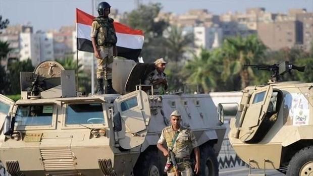 Lực lượng quân đội Sinai.