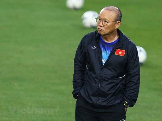 VFF chinh thuc dat thoa thuan gia han hop dong voi HLV Park Hang-seo hinh anh 1