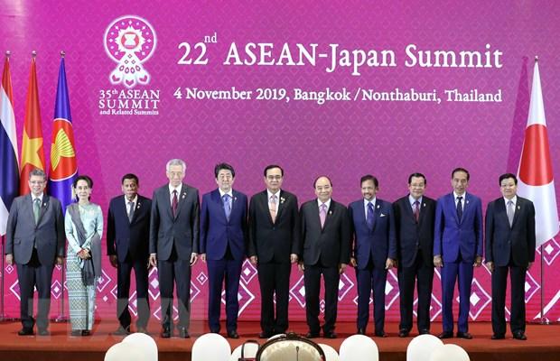 Thu tuong du Hoi nghi Cap cao ASEAN-Nhat Ban lan thu 22 hinh anh 1