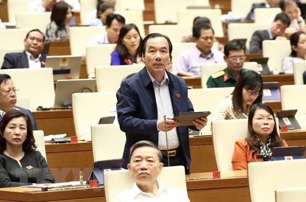 Quoc hoi: Xu ly nghiem hanh vi vi pham phap luat ve moi truong hinh anh 1